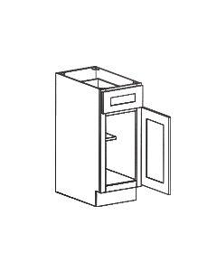 1 Door 1 Drawer Base Cabinet-Shaker Espresso