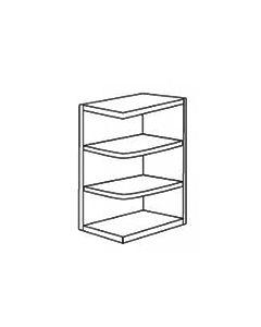 Base End Shelf-Shaker White