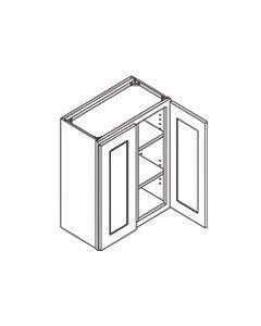 30 inch HEIGHT WALL CABINETS-2 Door-Shaker Espresso